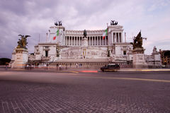 Museo Nazionale di Vittorio Emanuele II, Roma, Italia Immagini Stock