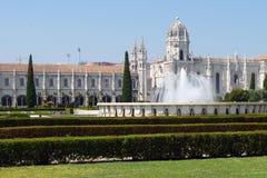 Museo nazionale Lisbona di archeologia Fotografie Stock Libere da Diritti
