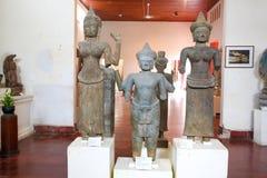 Museo nazionale nella pagoda dell'argento di Royal Palace di festa dell'indipendenza della Cambogia Fotografie Stock