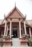 Museo nazionale nella pagoda dell'argento di Royal Palace di festa dell'indipendenza della Cambogia Immagine Stock Libera da Diritti