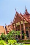 Museo Nazionale Phnom Penh Fotografie Stock