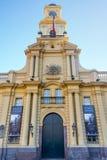 Museo nazionale a Santiago fotografie stock