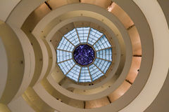 Museo New York City de Solomon Guggenheim Fotos de archivo libres de regalías