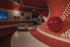 Museo olímpico de la juventud de Nanjing Imágenes de archivo libres de regalías
