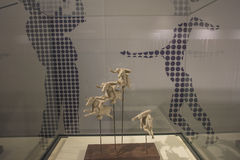 Museo olímpico de la juventud de Nanjing Foto de archivo