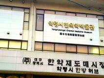 Museo orientale della medicina Fotografie Stock Libere da Diritti