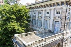 Museo palazzo reale in Genoa,Italy Stock Photo