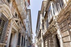 Museo palazzo reale in Genoa,Italy Royalty Free Stock Photo