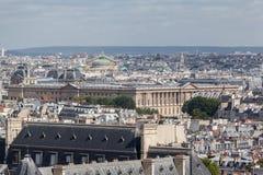 Museo París Francia de la lumbrera Fotos de archivo