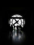 Museo Parigi di Orsay dell'orologio Immagine Stock Libera da Diritti