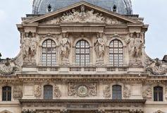 Museo Parigi Francia della feritoia Immagini Stock Libere da Diritti