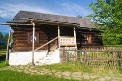 Museo piega dell'aria aperta, Slovacchia Fotografie Stock Libere da Diritti