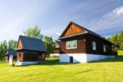 Museo popular del aire abierto, Eslovaquia Imagen de archivo libre de regalías