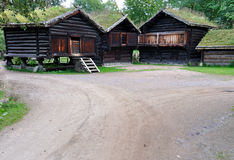 Museo popular noruego Imagen de archivo libre de regalías