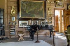 Museo-proprietà di Edvard Grieg Fotografia Stock