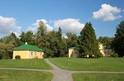 Museo Pushkin Boldino de la reserva Fotografía de archivo