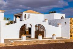 Museo Queso Majorero - Antigua, Fuerteventura, Spanien Lizenzfreie Stockfotografie