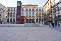 The Museo Reina Sofia museum in Madrid Stock Photography