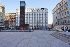 The Museo Reina Sofia museum in Madrid Stock Photos