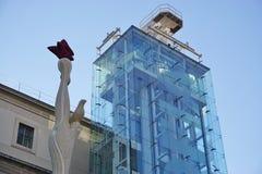 Museo Reina Sofia muzeum w Madryt Zdjęcie Royalty Free