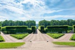 Museo-reserva de Tsarskoe Selo en la ciudad de Pushkin Foto de archivo libre de regalías