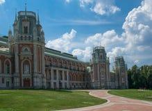 Museo-reserva Tsaritsyno en Moscú, Rusia. Foto de archivo