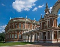 Museo-reserva Tsaritsyno en Moscú, Rusia. Fotografía de archivo