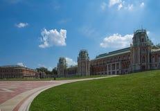 Museo-reserva Tsaritsyno en Moscú, Rusia. Fotos de archivo