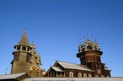 Museo-riserva etnografica Kizhi Immagini Stock Libere da Diritti