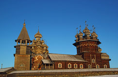 Museo-riserva etnografica Kizhi Immagine Stock
