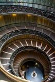 Museo Roma del Vaticano de la escalera espiral de Bramante Imagen de archivo