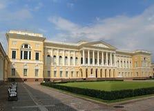 Museo ruso. El palacio de Mikhailovsky. Imagen de archivo