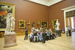 Museo ruso en St Petersburg Imagenes de archivo
