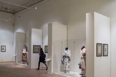 Museo ruso Espectadores en pinturas de Leon Bakst Fotografía de archivo libre de regalías