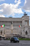 Atlar of the Fatherland - Rome, Italy Stock Photo