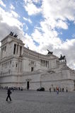 Atlar of the Fatherland - Rome, Italy Royalty Free Stock Photos