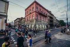 Museo a Sarajevo fotografia stock libera da diritti