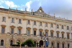 Museo Sassari Cerdeña Italia imagen de archivo libre de regalías