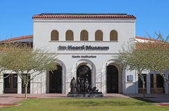 Museo sentito a Phoenix, Arizona Fotografia Stock Libera da Diritti