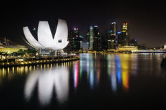 Museo Singapur de Artscience Fotos de archivo