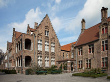 Museo Sint-Gennaio a Bruges, Belgio Immagine Stock