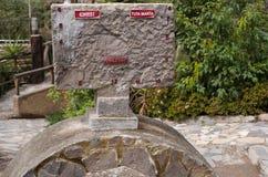 Museo Solar Inti Ñan Stock Photo