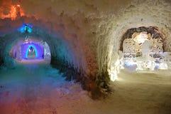 Museo in sotterraneo dello strato di ghiaccio permanente a Jakutsk Russia Fotografie Stock