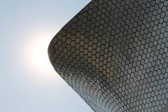 Museo Soumaya. En la CDMX Royalty Free Stock Photo
