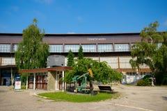 Museo técnico, Zagreb, Croacia fotografía de archivo