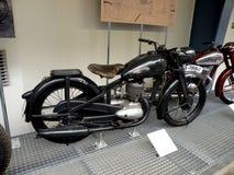 Museo tecnico dei motocicli a Praga Immagine Stock
