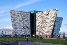 Museo titánico en Belfast Foto de archivo libre de regalías