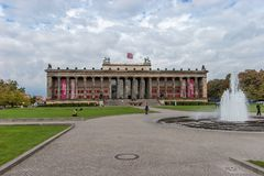 Museo viejo Berlín Fotos de archivo libres de regalías