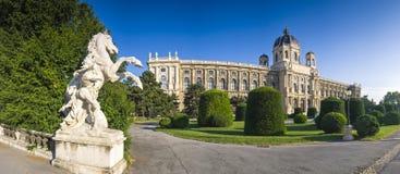 Museo Viena de Kunsthistorisches Fotografía de archivo libre de regalías