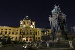 Museo Vienna di Naturhistorisches fotografia stock